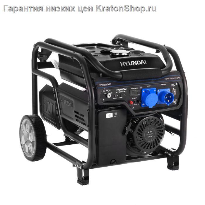 Бензиновый генератор hyundai hhy9000fe hhy9000fe